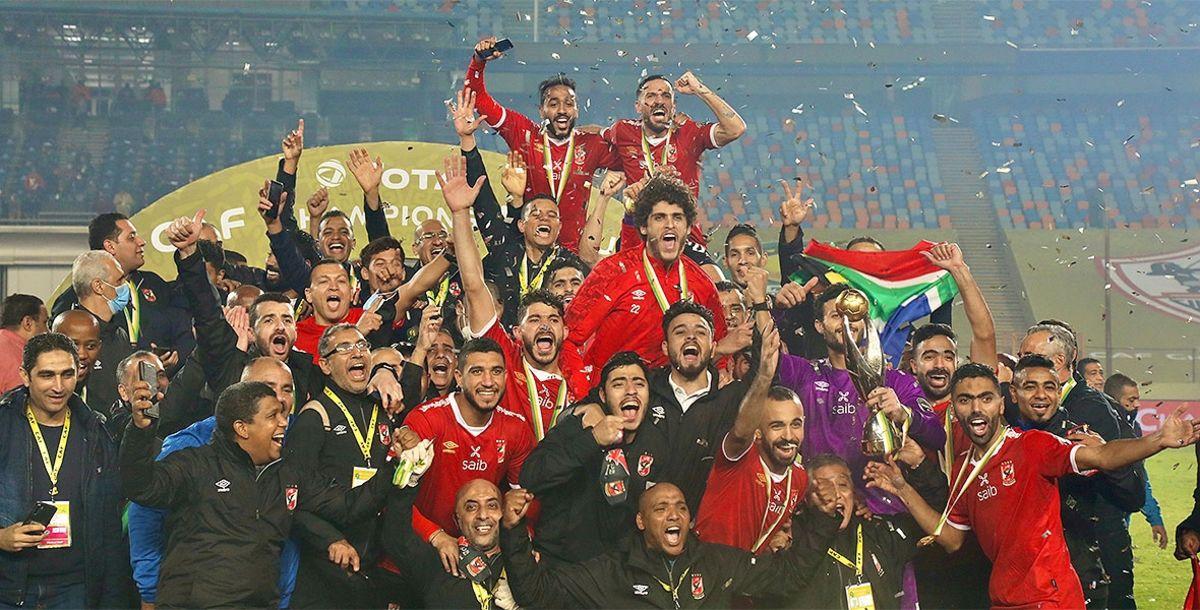 El Al-Ahly alzó su novena Liga de Campeones de la Confederación Africana al  vencer 2-1 a su eterno rival ...
