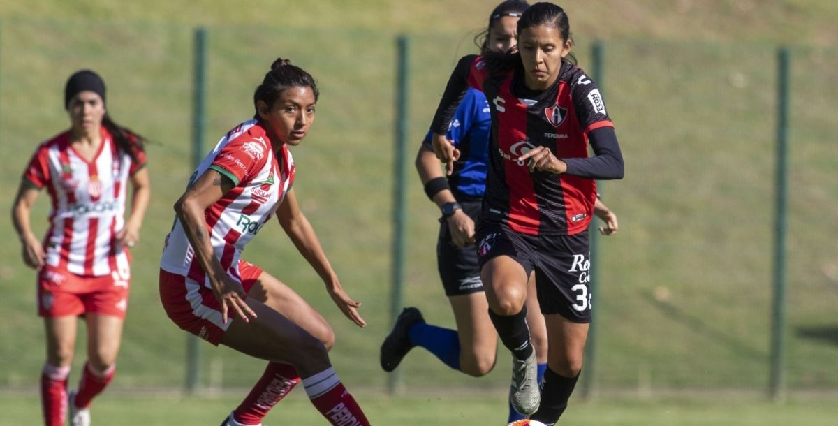 Atlas Femenil venció 3-1 a Necaxa con doblete de Alison González...